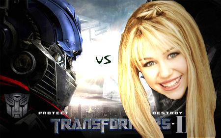 Transformers_2 vs miley