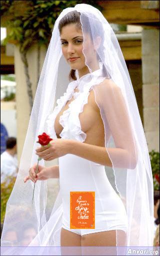 Wedding dress copy