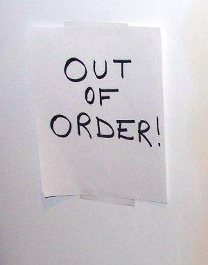 Backup-out-of-order-sign