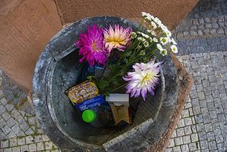 Flowers-flower-bin-dustbin